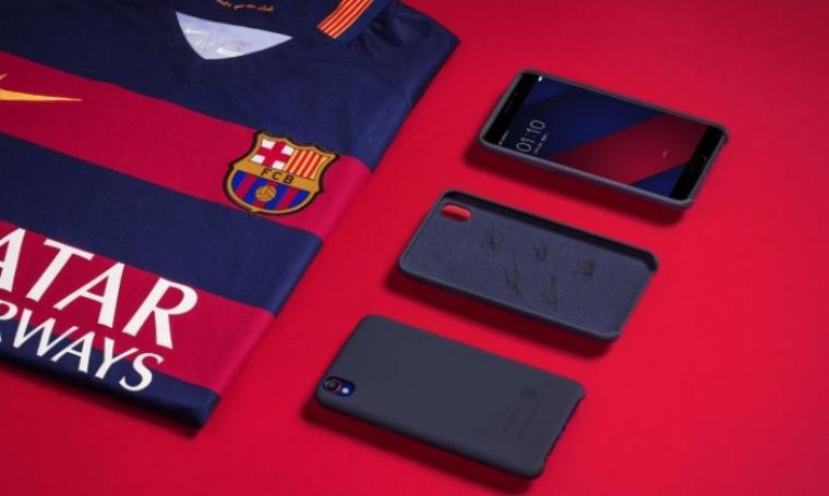 Smartphone Oppo F1 Plus Barcelona Edition. (Dok: appmarsh)