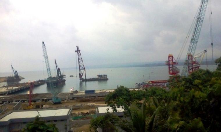 Dermaga Pelabuhan PT Cemindo Gemilang. (Dok: bantenpos)