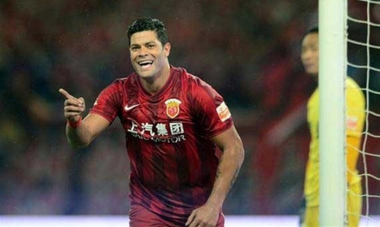 Pemain Shanghai SIPG, Hulk yang nominal gajinya urutan ketiga di bawah pemain bintang, Cristiano Ronaldo dan Lionel Messi. (Dok: shanghaidaily)