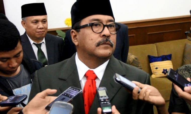 Gubernur Banten, Rano Karno. (Dok: bantenbox)
