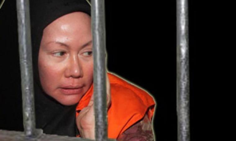 Terpidana kasus korupsi, Ratu Atut Chosiyah. (Dok: tubasmedia)
