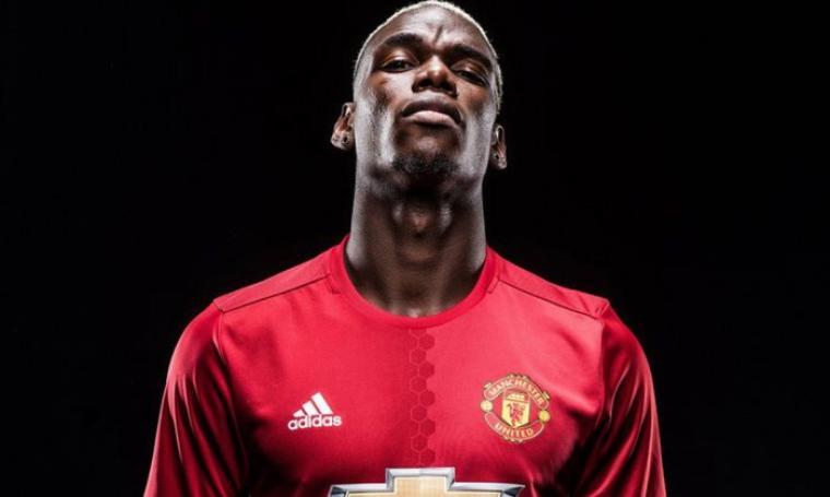 Paul Pogba telah resmi bergabung bersama Manchester United dan menyandang sebagai pemain dengan nilai transfer termahal dunia. (Dok: eurosport)