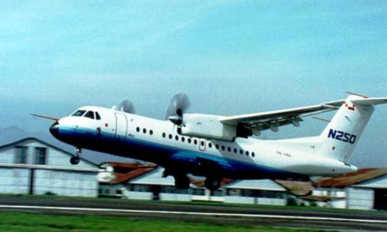 Pesawat N-250. (Dok: mimbar-rakyat)