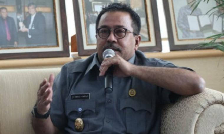 Gubernur Banten, Ramo Karno. (Dok: bantenterkini)