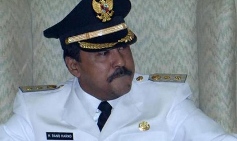 Gubernur Banten, Rano Karno. (Dok: beritasatu)