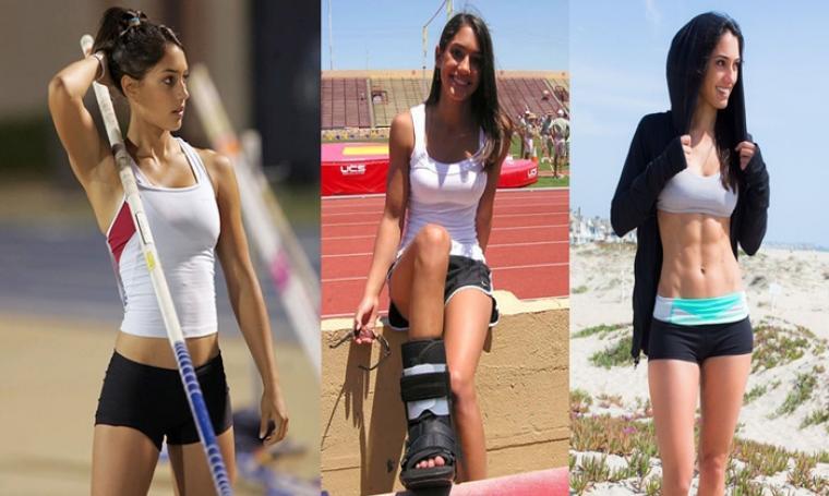 Allison Stokke, Atlet Lompat Galah - Amerika Serikat.