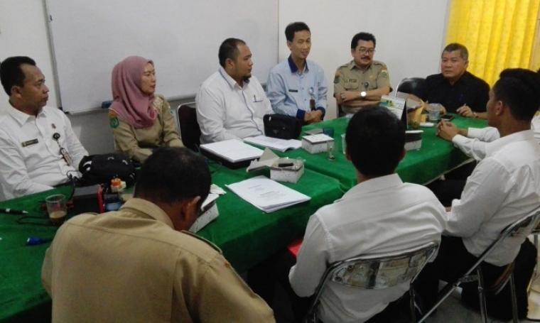 Suasana gelar perkara kasus PT Siemens Indonesia di Kantor Disnaker Kota Cilegon, Selasa (16/8/2016). (Foto: TitikNOL)