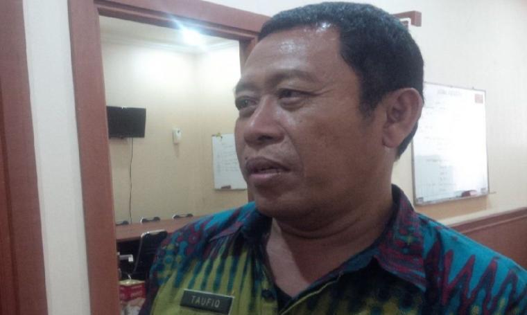 Asda I Setda Pemkot Cilegon Taufiqurahman, saat ditemui disela-sela pertemuan dengan pihak PT KAI, di kompleks perkantoran Pemkot Cilegon, Jumat (6/8/2016). (Foto: TitikNOL)