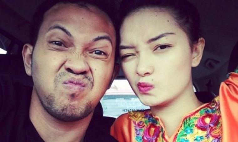Zaskia Gotik dan Arief Fitriansyah. (Dok: selebupdate)