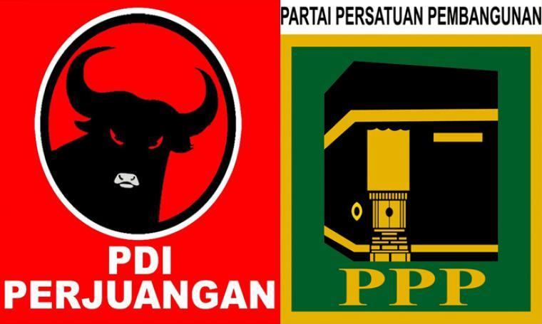 Ilustrasi koalisi PDIP-PPP. (Dok: net)