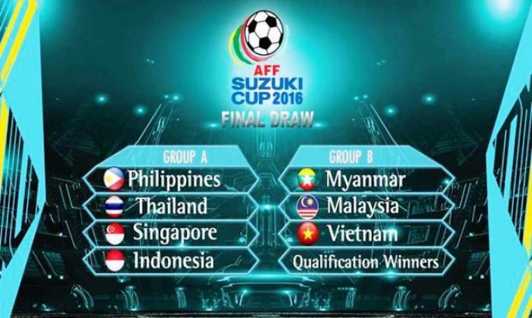 Hasil undian Piala AFF 2016. (Dok: Ist)