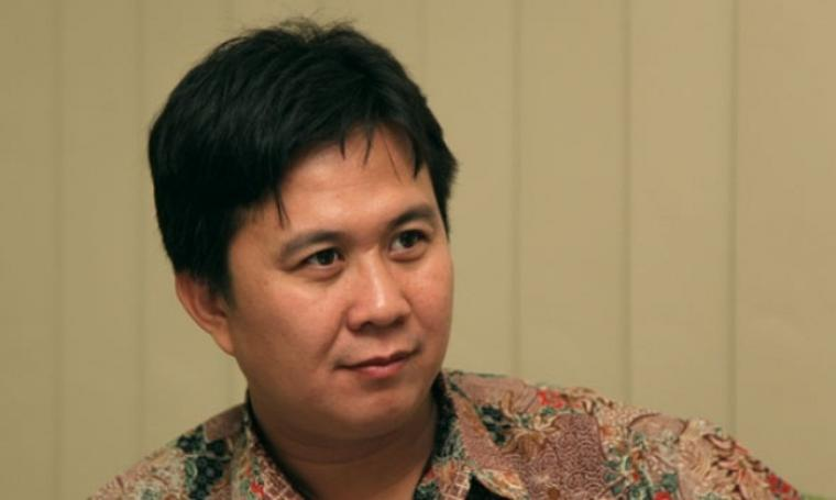 Mantan koordinator Indonesia Corruption Watch (ICW), Ade Irawan. (Dok: tangselpos)
