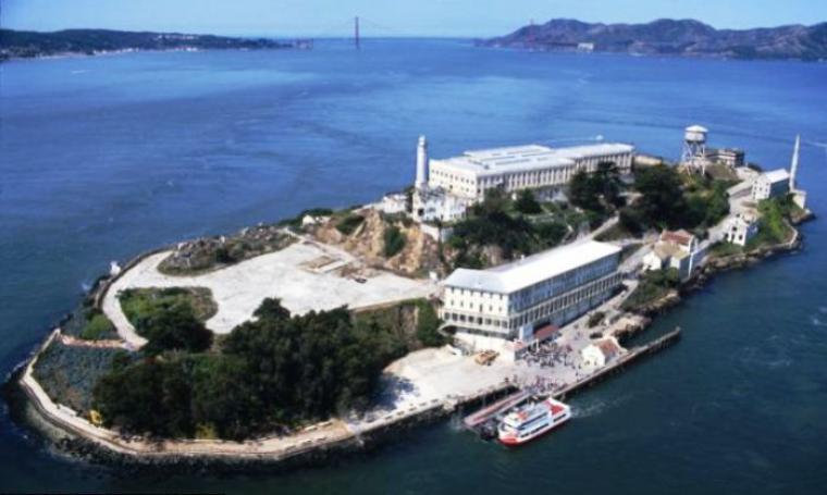 Penjara Federal Alcatraz. (Dok: dailymail)
