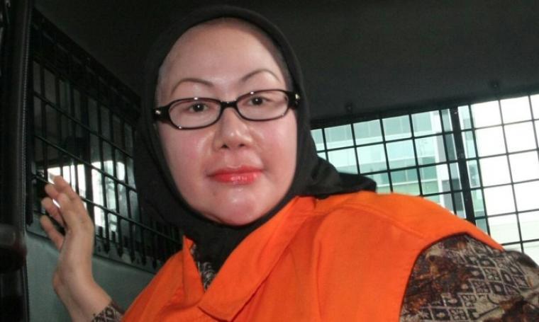Mantan Gubernur Banten, Ratu Atut Chosiyah. (Dok: bantenterkini)