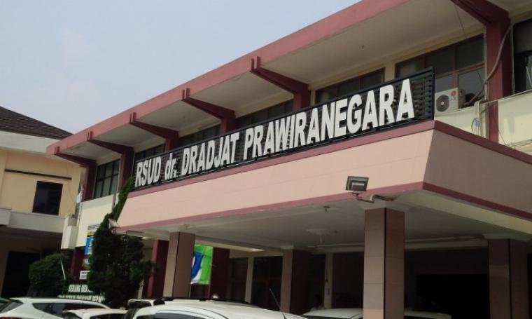 Rumah Sakit dr Dradjat Prawiranegara. (Dok: bantencom)
