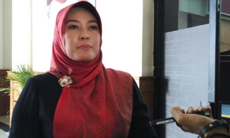 Bupati Pandeglang, Irna Narulita. (Dok: bantenheadline)