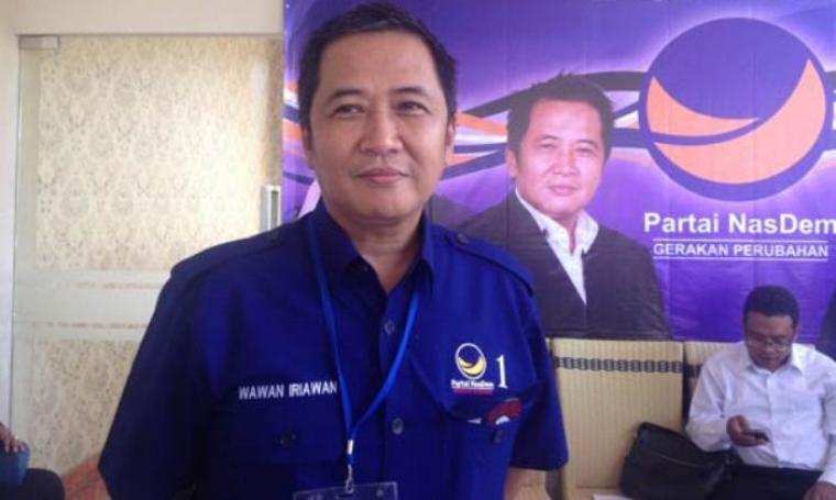 Ketua DPW Partai NasDem Provinsi Banten, Wawan Iriawan. (Dok: radarbanten)