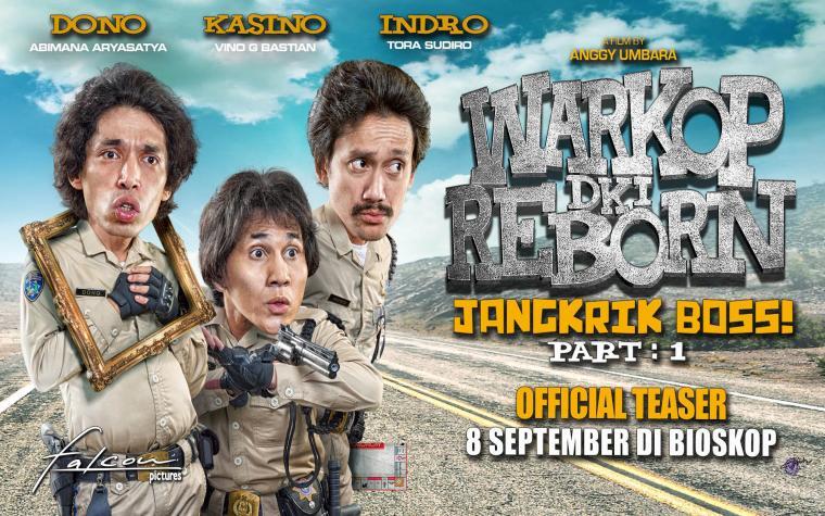 Warkop DKI Reborn Jangkrik Boss Part 1. (Dok: youtube)