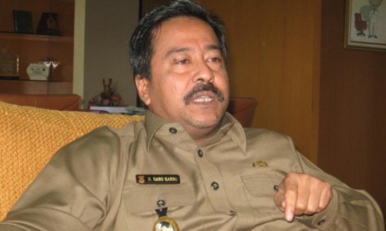 Gubernur Banten, Rano Karno. (Dok: tempo)