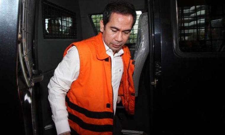 Terpidana kasus korupsi proyek RSUD Tangsel dan sejumlah Puskesmas Tangsel tahun 2010-2012, Tubagus Chaeri Wardana alias Wawan. (Dok: poskotanews)