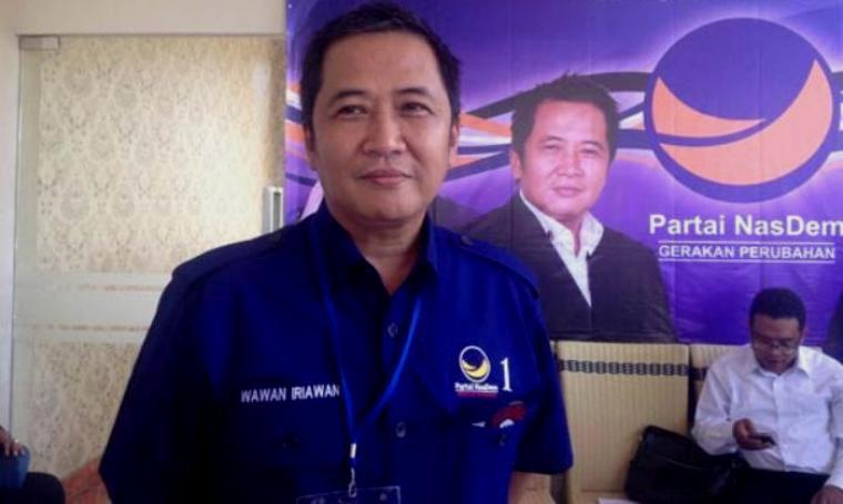 Ketua DPW Partai NasDem Banten, Wawan Iriawan. (Dok: radarbanten)
