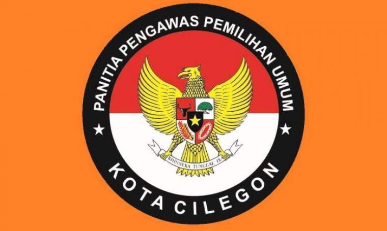 Logo Panwaslu Kota Cilegon. (Dok: fesbukbantennews)