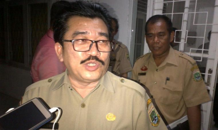 Kadisnakertrans Provinsi Banten, Al Hamidi. (Dok: TitikNOL)