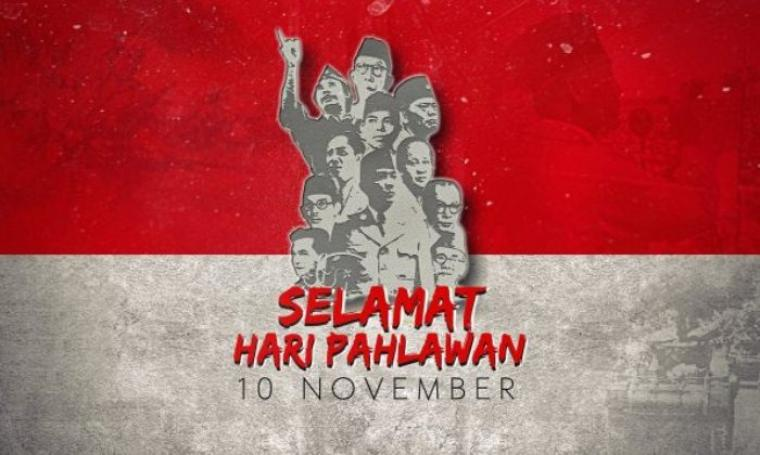 Ilustrasi Hari Pahlawan Nasional. (Dok: orbitindo)