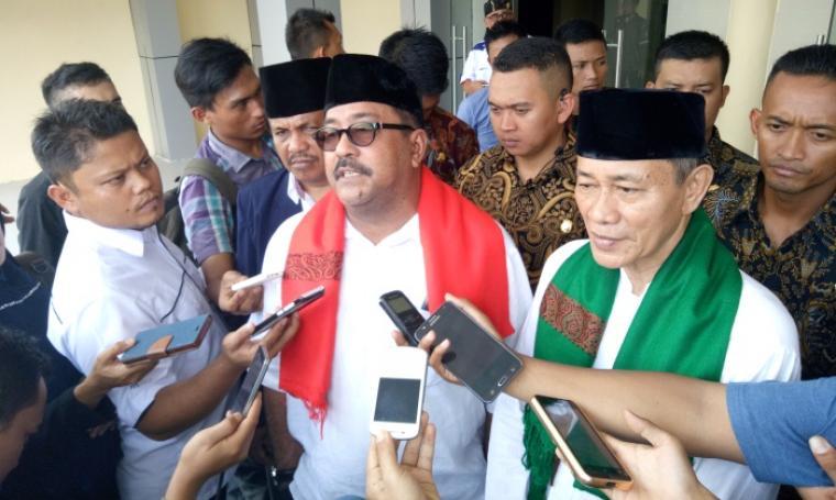 Pasangan calon Gubernur dan Wakil Gubernur Banten, Rano Karno - Embay Mulya Syarif. (Dok: TitikNOL)