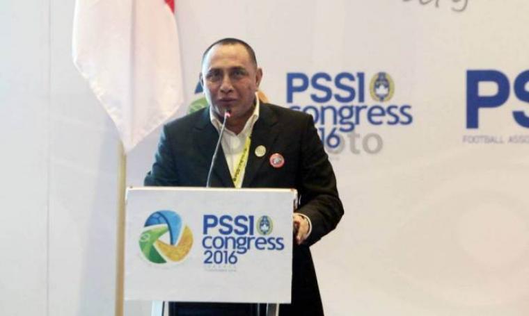 Ketua PSSI, Edy Rahmayadi. (Dok: sindonews)