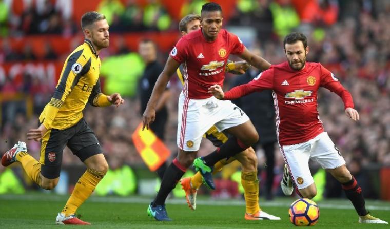 Manchester United 1-1 Arsenal. (Dok: skysports)