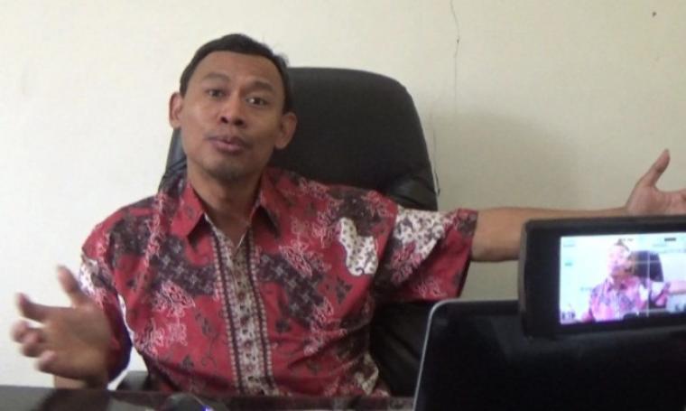 Ketua Bawaslu Banten, Pramono U Tanthowi. (Dok: bantenheadline)