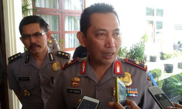 Kapolda Banten Brigjen Pol Sigit Listyo Prabowo saat memberikan keterangan terkait Polresta. (Foto: TitikNOL)