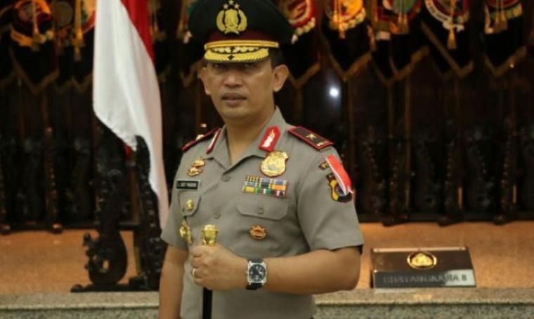 Kapolda Banten, Brigjen Pol Listyo Sigit Prabowo. (Dok: poskotanews)