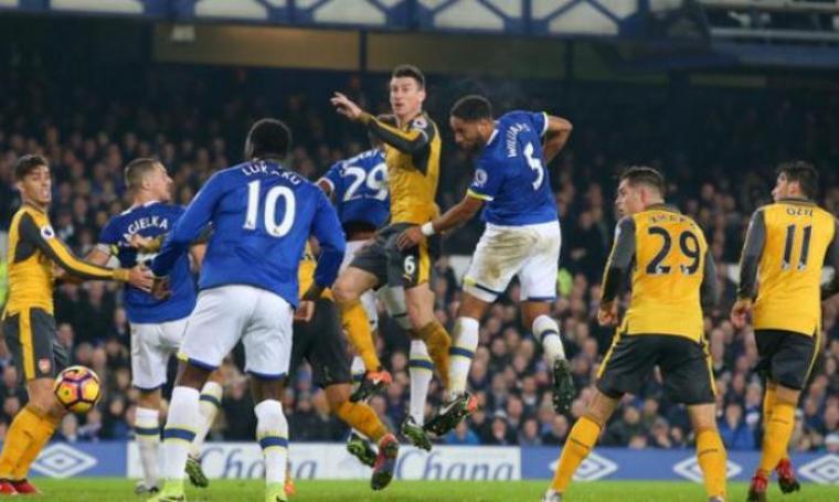 Everton vs Arsenal. (Dok: tribunnews)