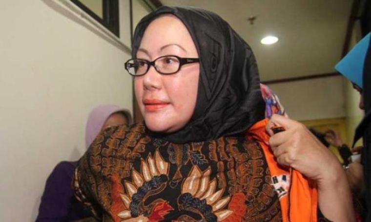Tersangka kasus alkes Banten, Ratu Atut Chosiyah. (Dok: bidikbanten)
