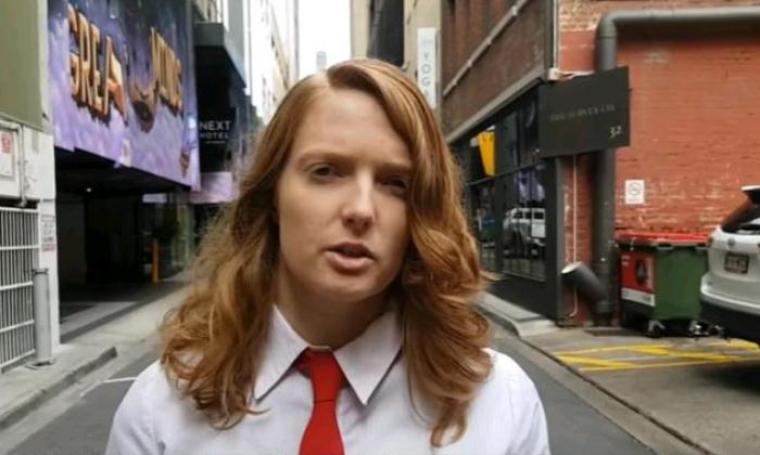 Sally Andrews. (Dok: YouTube)