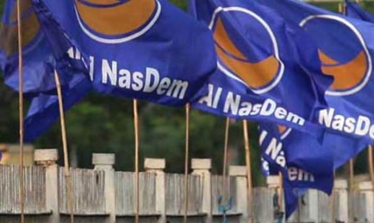 Ilustrasi NasDem. (Dok: fajar)