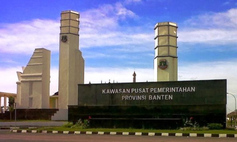 Kawasan Pusat Pemerintahan Provinsi Banten. (Dok: beritatransparansi)