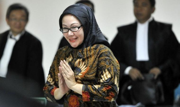 Mantan Gubernur Banten, Ratu Atut Chociyah. (Dok: tangerangrayaonline)