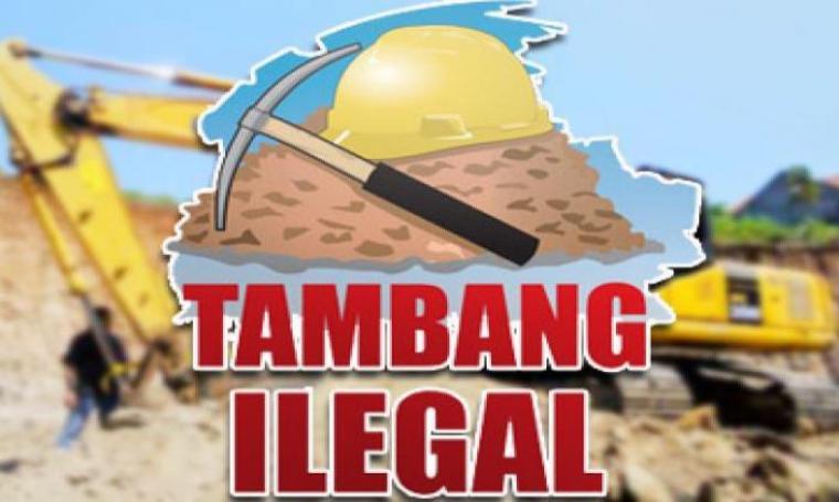 Ilustrasi Tambang Emas Ilegal. (Dok: Metrosulawesi)