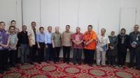 Foto bersama Kades yang mengikuti studi banding ke Yogjakarta didampingi Kabid PKMD kantor DPMD Kabupaten Lebak. (Foto: TitikNOL)