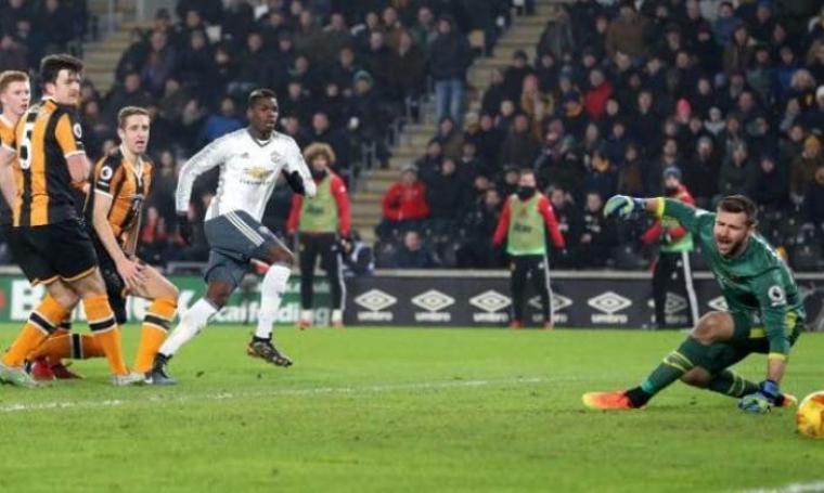 Proses terjadinya gol yang dibuat oleh Paul Pogba. (Dok: telegraph)