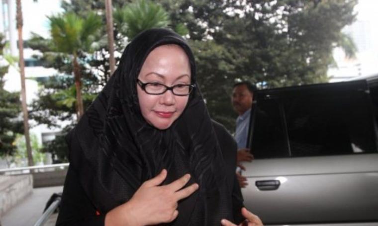 Mantan Gubernur Banten, Ratu Atut Chosiyah. (Dok: tribunnews)