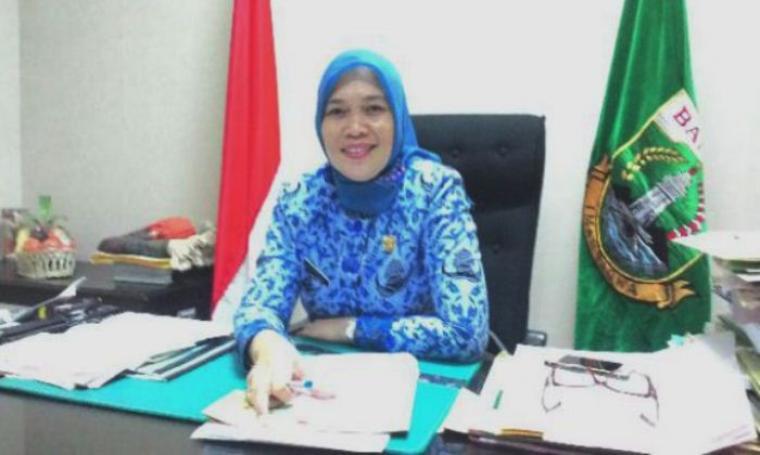 Plt Kepala Biro Rumah Tangga Pimpinan, Sitti Maani Nina. (Dok: bantenhits)