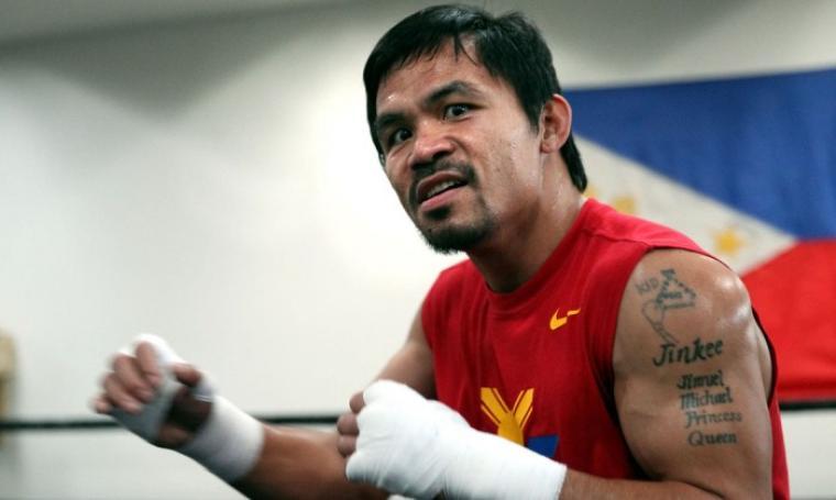 Manny Pacquiao. (Dok: eog)