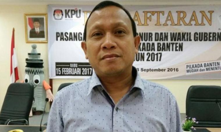 Ketua Komisi Pemilihan Umum (KPU) Provinsi Banten, Agus Supriyatna. (Dok: Rilitas)