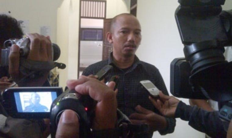 Ketua Divisi Pengawasan dan Hubungan Antar Lembaga Bawaslu Banten, Eka Satya Laksmana. (Dok: wirapati.raddien)