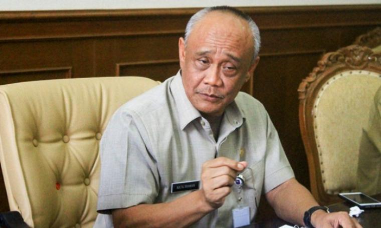 Plt Gubernur Banten, Nata Irawan. (Dok: tangerangrayaonline)