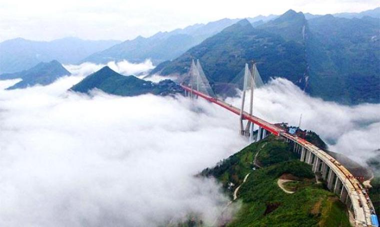 Jembatan Beipanjiang. (Dok: economictimes)
